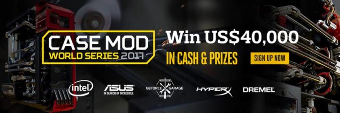 CASE MOD WORLD SERIES 2017 GLOBAL COMPETITION BY COOLER MASTER
