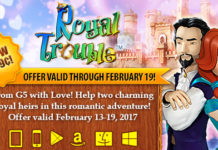 Valentine's Day SALE! Get Royal Trouble: Hidden Adventures at Up to 80% Off!