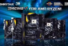 BIOSTAR RACING Series Motherboard Lineup for AMD RYZEN Announced