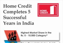 Home Credit Completes 5 Successful Years in India, Targets 5 Million Customers by 2018