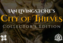 The Games Collector announce limited hardback editions of Ian Livingstone's classic 'City of Thieves' Fighting Fantasy book
