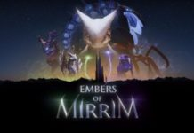 DIVE INTO THE WORLD OF EMBERS OF MIRRIM WITH NEW GAMEPLAY TRAILER AND IMAGES