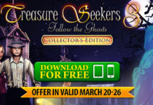 Weekly Giveaway! Get Treasure Seekers 3: Follow the Ghosts for FREE on iOS