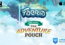 DELVE DEEPER INTO THE WORLD OF FAERIA WITH THE 'ADVENTURE POUCH'