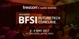 5th Edition BFSI Future Tech Conclave to be Held on 4 - 6 May 2017 at the Hilton Hotel, Jaipur, India