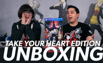 """Persona 5 """"Take Your Heart"""" Premium Edition Unboxing Video"""