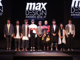 A Fashionable End to the Max Design Awards 2016-17