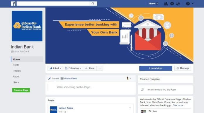 Indian Bank Expands its Reach in Social Media