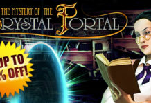 Weekly SALE! The Mystery of the Crystal Portal is up to 80% off!