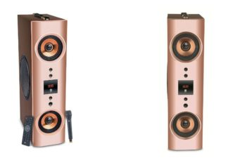 iBall announces powerful 'Karaoke Booster Tower' speaker for every party with wireless Mic bundled FREE!