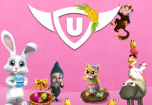 upjers Hides Easter Presents