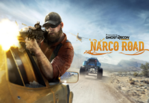 GO UNDERCOVER IN TOM CLANCY'S GHOST RECON® WILDLANDS FIRST EXPANSION, NARCO ROAD, COMING APRIL 18