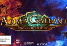 ARMAGALLANT: DECKS OF DESTINY AVAILABLE EXCLUSIVELY ON PS4 TODAY