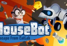MouseBot: Escape From CatLab out Tuesday, April 4 on iOS, Android and Amazon
