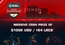 HyperX Partners with ESL India for Premiership, 2017