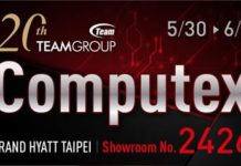 Team Group Unveils 20 Years of Accumulation at COMPUTEX Taipei 2017