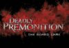 Deadly Premonition The Board Game Kickstarter Now Live
