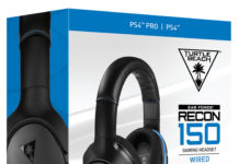 The Turtle Beach RECON 150 is a wired stereo gaming headset for PS4(TM) and is planned to launch this July exclusively at Best Buy in the U.S. and at other participating retailers worldwide for a MSRP of $69.95. Hear Everything. Defeat Everyone. (PRNewsfoto/Turtle Beach Corporation)