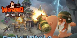 Free update for Worms W.M.D adds Forts Mode