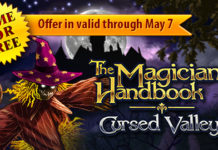 Download The Magician's Handbook: Cursed Valley for FREE and reverse a dreadful spell!