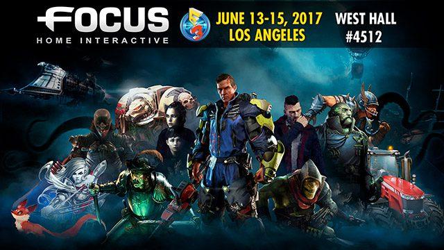 Focus Home Interactive unveils its E3 2017 line-up