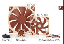 Noctua introduces new A-series fans and accessories