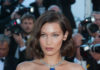 """Bella Hadid Debuts a Platinum Necklace at the """"Opening Ceremony of the Cannes Film Festival"""""""
