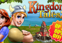 Weekly Sale! Help young Finn reunite with his beloved Princess Dahla in this exciting time management adventure Kingdom Tales 2!