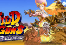 NATSUME'S CLASSIC ARCADE SHOOTER WILD GUNS RELOADED LAUNCHES ON STEAM