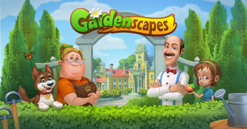IDreamSky Will Be Bringing Match 3 Game Of The Year, Gardenscapes, To  Chinau0027s Android