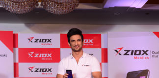 Ziox Mobiles announces 'Sushant Singh Rajput' as its Brand Ambassador along with Rs. 300cr investment for FY17 -18