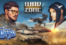 "Popular Influencer Becomes Hero inC&C-like mobile PvP strategy game ""Warzone: Clash of Generals"""