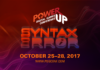 Power-Up Digital Games Conference: Syntax Error Is Coming To Discord In October!