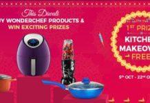 "Sanjeev Kapoor's Wonderchef Launches ""Gift Health this Diwali"" Campaign"