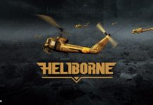 With the roar of mighty engines and rumbling shot of onboard cannons, Heliborne