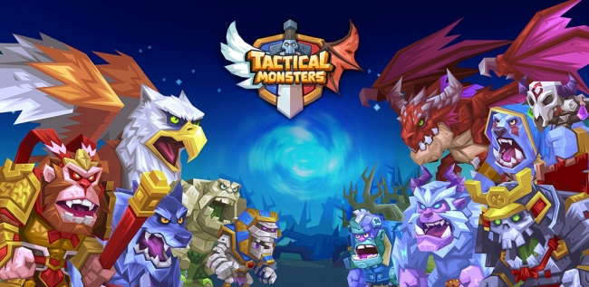 TACTICAL MONSTERS RUMBLE ARENA SMASHES ITS WAY ONTO STEAM