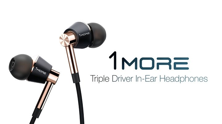 Apple earbuds single - 1More Quad Driver In-Ear Overview