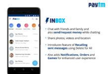 How to use Paytm Inbox to chat and transfer money