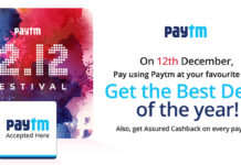 Enjoy best deals by shopping at your neighborhood stores using Paytm