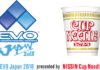 """NISSIN CUP NOODLE Announces as Presenting Sponsor of """"EVO JAPAN 2018"""""""