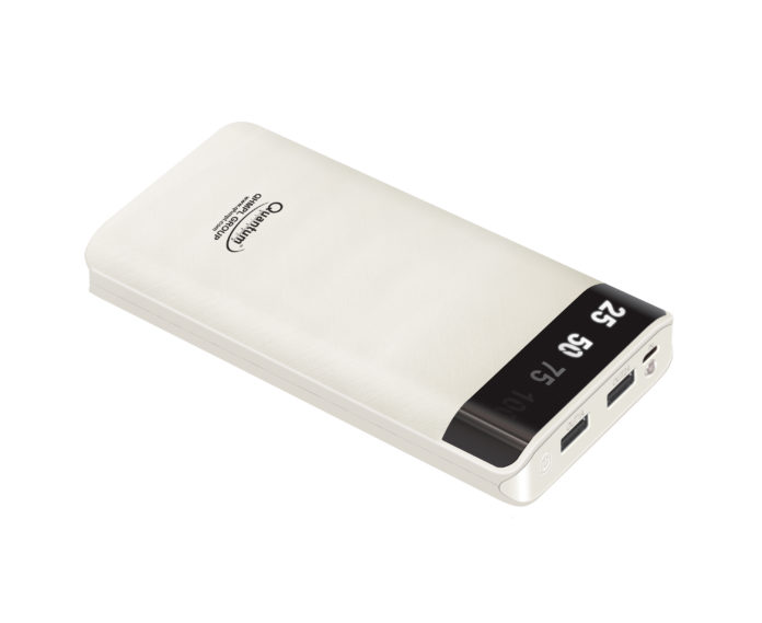 Quantum announces High capacity 20000MAh Power bank priced for Rs. 2,990/-, covering small to big needs