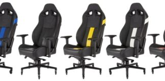 Gaming Comfort for the Long Haul CORSAIR Launches New T2 ROAD WARRIOR Gaming Chair