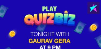 Introducing QuizBiz: India's first live quiz show launched by Cheetah Mobiles' latest broadcasting app Live.me