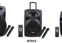 Now Create a Party Atmosphere Anywhere With Artis Trolley Bluetooth Speakers