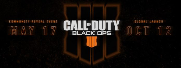 PREPARE FOR CALL OF DUTY: BLACK OPS 4 ON 12TH OCTOBER WITH COMMUNITY REVEAL EVENT ON 17TH MAY