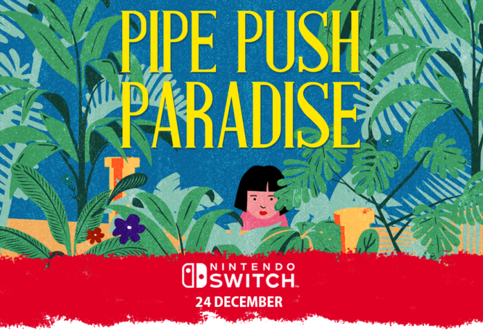 Pipe Push Paradise coming to Nintendo Switch